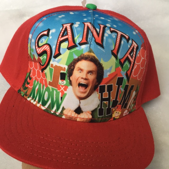 Elf Movie Ugly Christmas Hat New Will Ferrell Cap Nwt